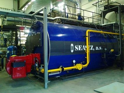 průmyslové kotelny - dodávka, montáž, servis