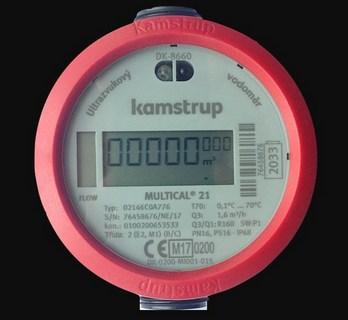 Ultrazvukové vodoměry Kamstrup