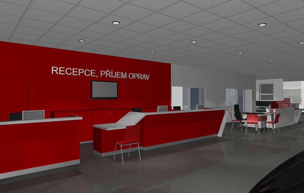 Interiéry pro veřejné objekty navržené na míru