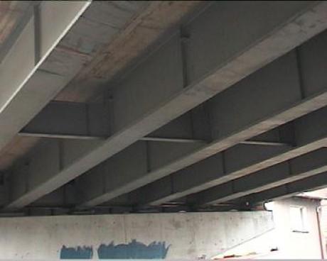 Ošetření ocelových mostních konstrukcí