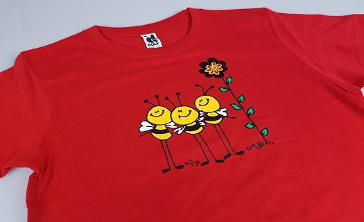 Jak se provádí potisk triček – exkurze pro mateřské školy a žáky ZŠ