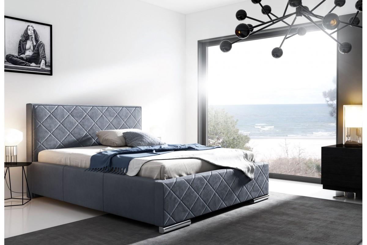Moderní postele do ložnice, praktické válendy, elegantní dvoulůžka