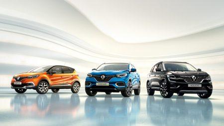 Osobní, užitkové a sportovní vozy Renault
