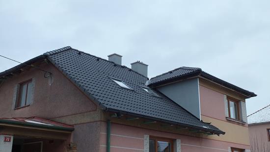 Výstavba střešních konstrukcí, realizace střech