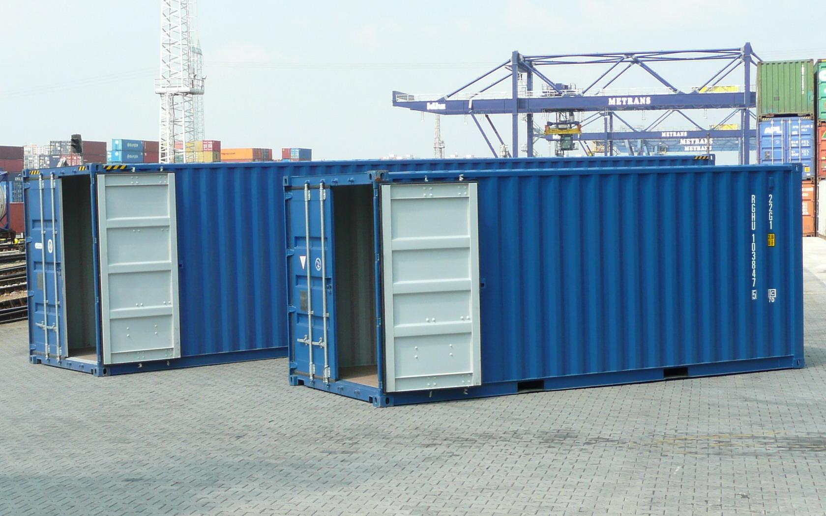 Prodej kontejnerů a dodávka kdekoli v České republice i na Slovensku