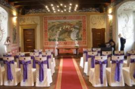Uspořádaní svatby na míru Zámek Valeč, svatební obřad na zámku