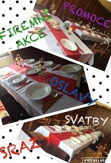 firemní akce, oslavy a svatby - Veselí nad Moravou