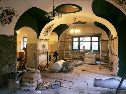 Probíhá rekonstrukce Rohozecké restaurace