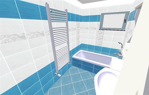 3D vizualizace koupelny