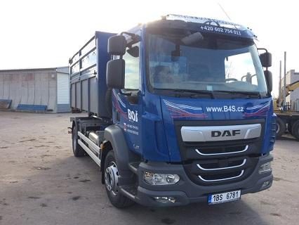 Containertransport - Container zum Materialabfuhr und –zufuhr Tschechische Republik