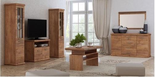 Stylové obývací stěny a sestavy či sektorový nábytek do obývacích pokojů