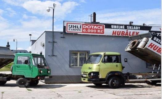 Prodej a dodávka paliv, uhlí hnědé, černé, koks, brikety, dřevěné pelety, Letohrad