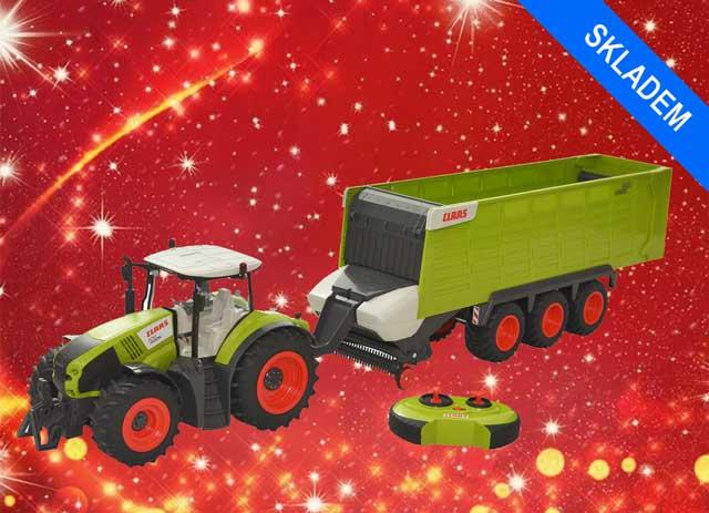 Vánoční dárky pro holky a kluky na jednom místě: RC modely, hračky KLEIN, stavebnice farem