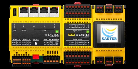 SAUTER Automation, spol. s r.o., Praha, Modulo 6, komplexní systém automatizace budov
