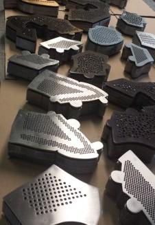 Perforiermatrizen für die Schuh- und Lederindustrie - Produktion nach Bedarf Tschechische Republik