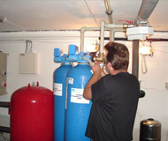 Praha montáž filtrů na úpravu vody