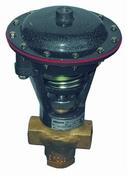 Kulové elektromagnetické ventily, klapky, elektrické servopohony