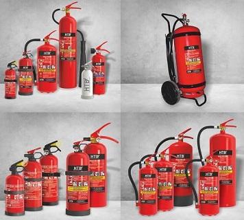 Hasicí přístroje pro kolaudaci rodinného domu, splňující vyhlášku o požární ochraně staveb