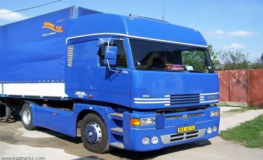 Mezinárodní a vnitrostátní doprava, kamionová přeprava, transport nebezpečného nákladu
