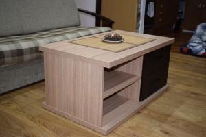 Nábytek do obývacího pokoje vyráběný na míru truhlářem