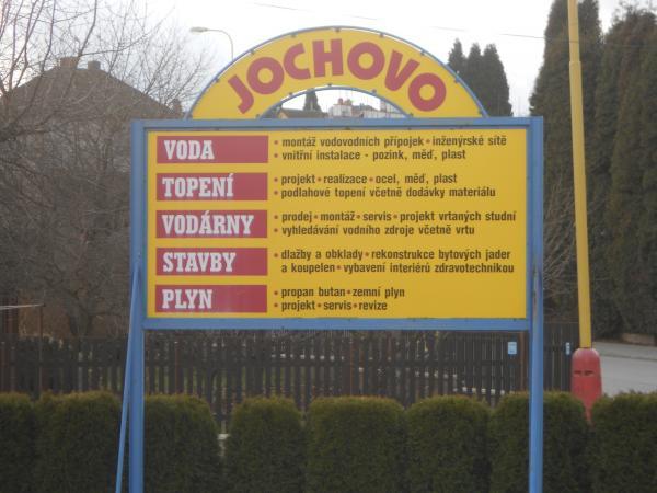 JOCHOVO s.r.o., Světlá nad Sázavou, instalace vody, topení a plynu