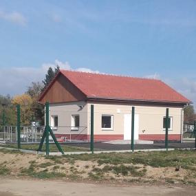 Výstavba ČOV a tlakové kanalizace