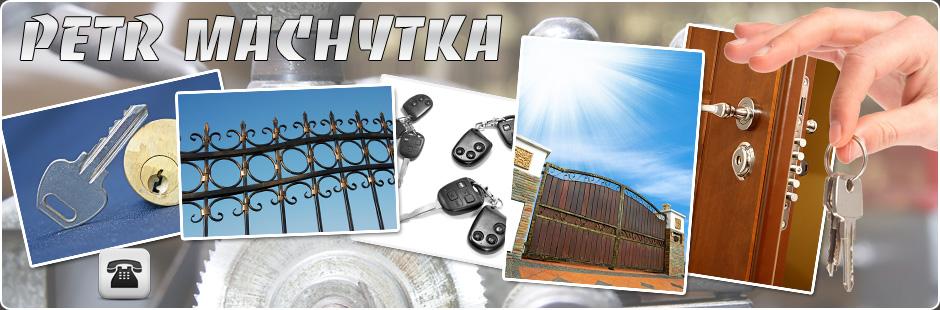 Zámečnické práce, výroba klíčů a otevírání mechanických zámků