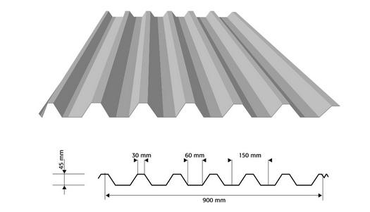Výroba trapézových plechů Kolín