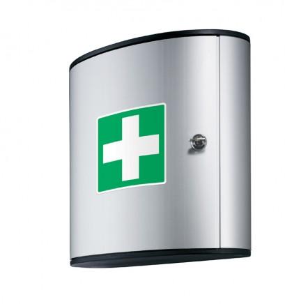 Nábytek do ordinací prodej Praha - kovové skříně na léky a spisy