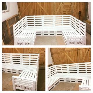 Výroba nábytku z palet do domácnosti - sedací soupravy, stoly, židle, postele a další