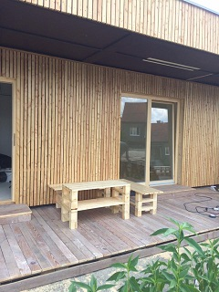 Paletový nábytek na zahradu - výroba na zakázku