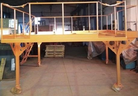 Kovovýroba - kovové konstrukce, průmyslové plošiny, stojany, dílenské přípravky