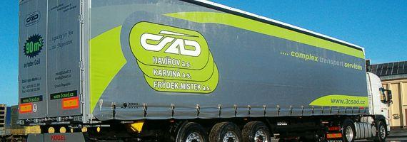 Autodoprava, přeprava nadrozměrných nákladů Frýdek-Místek
