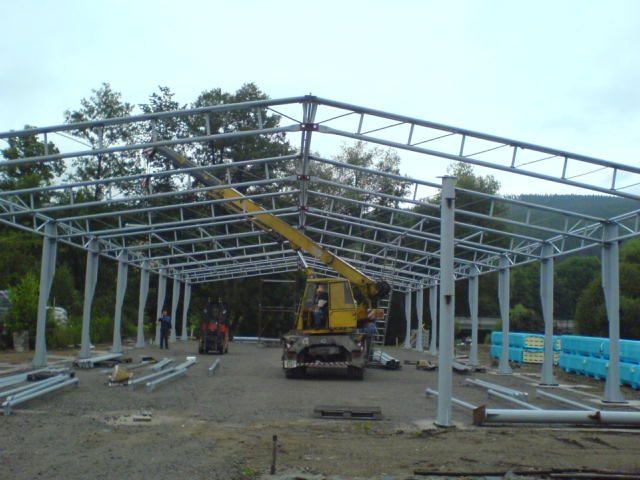 Dodávka a montáž montovaných ocelových hal Planá nad Lužnicí - haly na klíč, zateplování