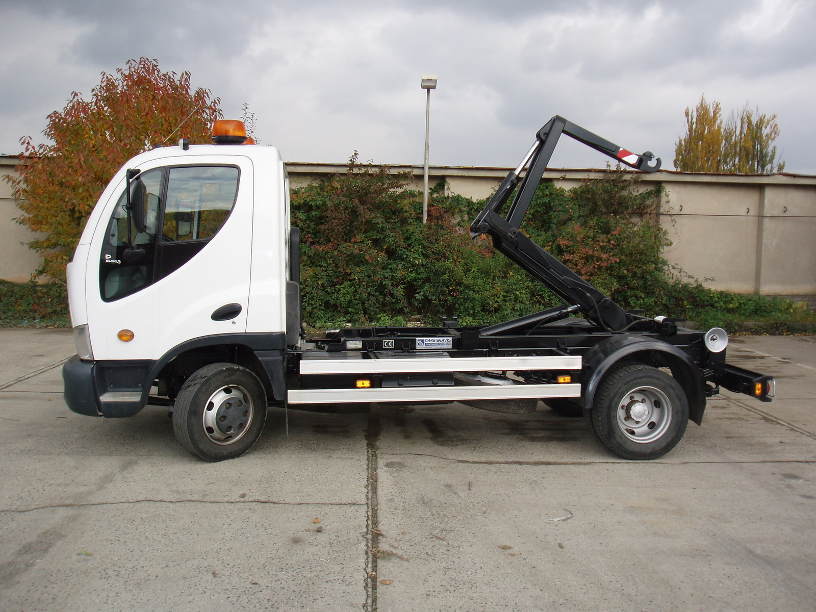 CH + S SERVIS, s.r.o., Praha, kontejnerové rámy na vozidla a traktory