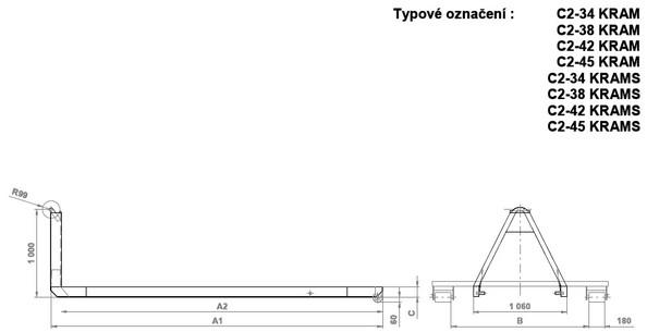 CH + S SERVIS, s.r.o., Praha, nástavby vozidel pro kontejnerovou přepravu
