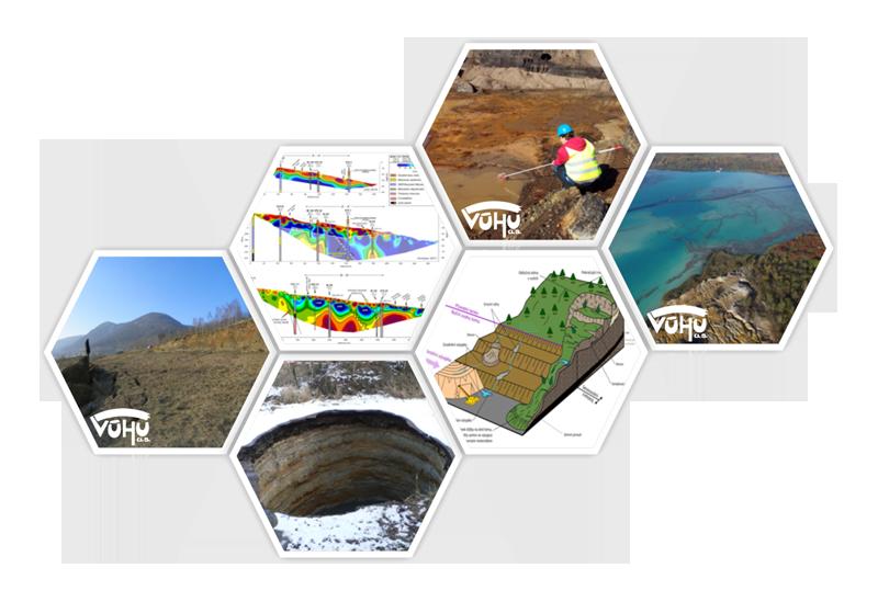 VÚHU a.s. Most, inženýrská geotechnika a hydrogeologie