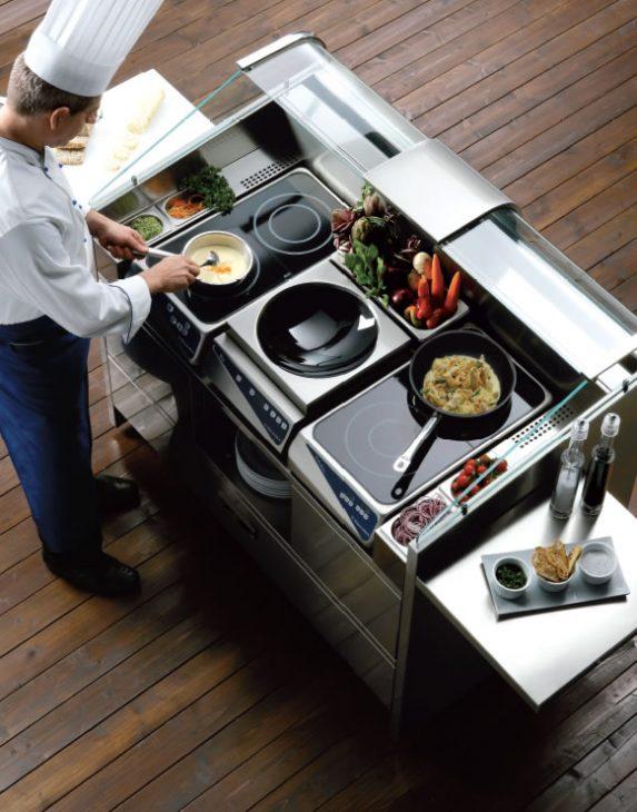 Front cooking pro každý prostor Praha - Libero Line
