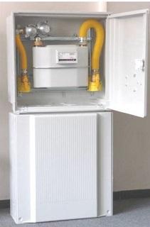 Plastové plynoměrové skříně pro RD i velké objekty, domovní HUP – dodávka