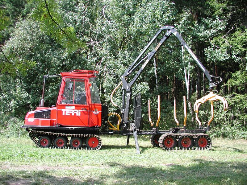 Hanko CZ, s.r.o., Šumava, přibližování dřeva, probírkové porosty