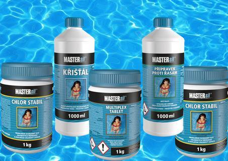 Akce, prodej bazénové chemie za výhodné ceny Kolín