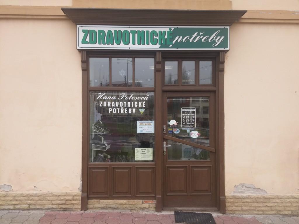 Prodej zdravotnických potřeb, pomůcek Nový Jičín