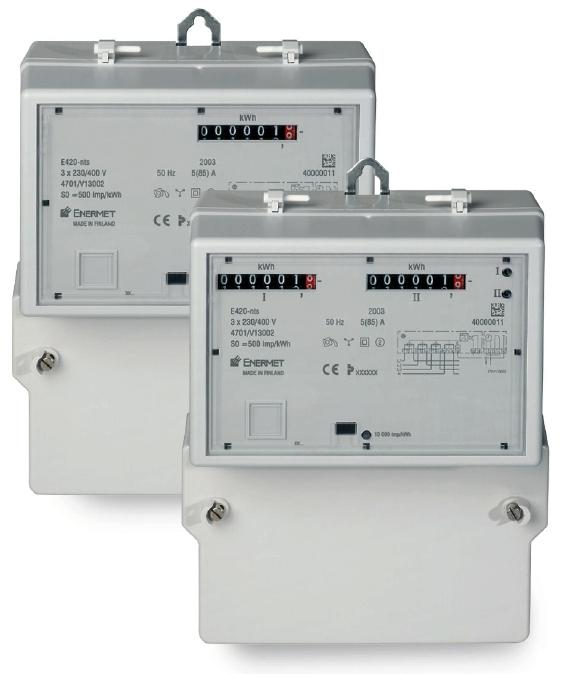 Třífázový statický elektroměr ENERMET E420