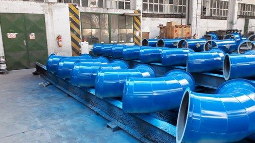 Výroba svařovaného potrubí kvalitně zpracované s atypickými požadavky od zákazníka Havlíčkův Brod