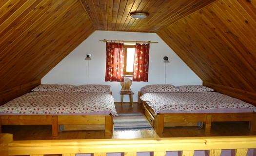 Komfortní pokoje s kuchyní, televizí i wi-fi připojením