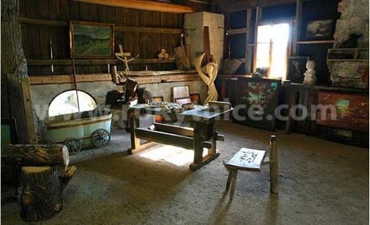 Muzeum a galerie, expozice se zaměřením na tehdejší život v Krkonoších, řemeslné výrobky
