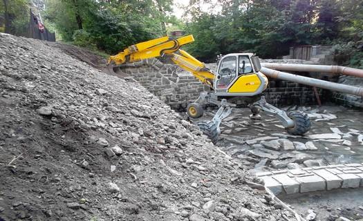Vodohospodářské a dopravní stavby, inženýrské sítě, zemní a betonářské práce, Ludgeřovice