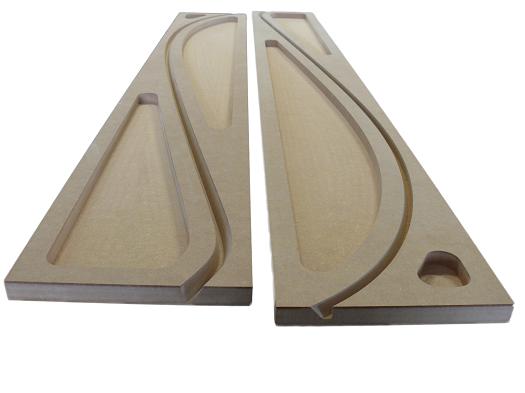 Dřevěné formy pro prototypy