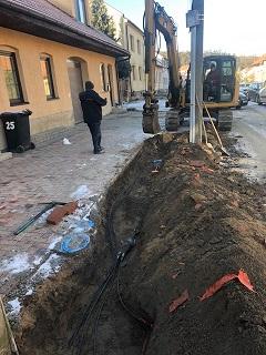 Opravy a rekonstrukce chodníků