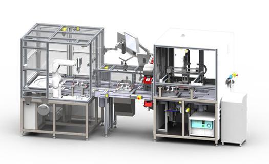 Montážní a technologické linky, robotizovaná pracoviště, testovací stroje, jednoúčelové stroje